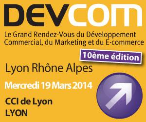 DevCom Rhones Alpes – Lyon 19 mars 2014