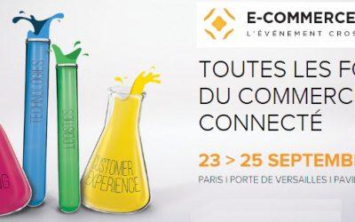 e-Commerce – Paris 23 au 25 septembre 2014 – Pavillon 7.3 – stand J079