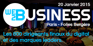 Web2Business – Paris – Folies Bergères – 20 janvier 2015