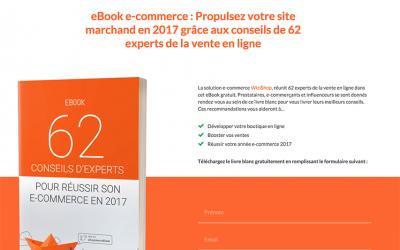 «6 conseils du Jedi de la Performance» dans le nouvel Ebook E-commerce de WiziShop