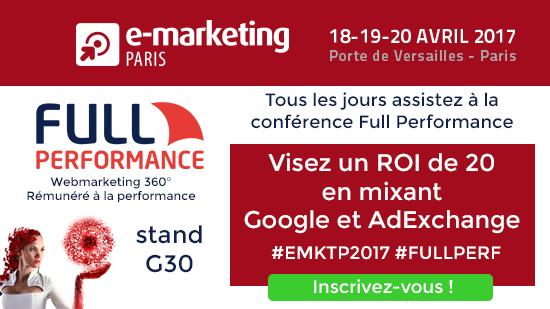 full performance e marketing paris 2017
