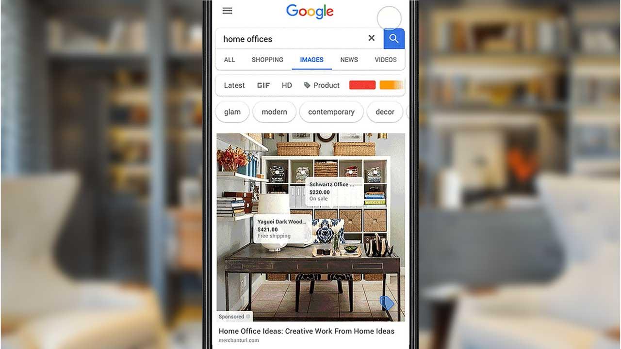 [Google] Nouveauté: Vos publicités Google Shopping diffusées dans Google Images